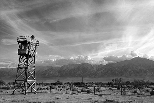 Watchtower Manzanar Internment Camp